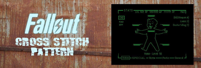 Fallout Cross Stitch Patterns slider