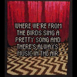 Twin Peaks Cross Stitch Pattern -2