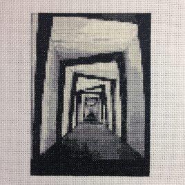 Cabinet of Dr Caligari Cross Stitch Pattern