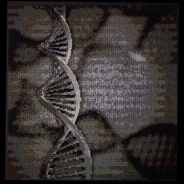 DNA Cross Stitch Pattern