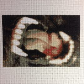 Teeth Cross Stitch Pattern