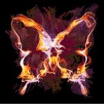 Chaos Butterfly Cross Stitch Pattern