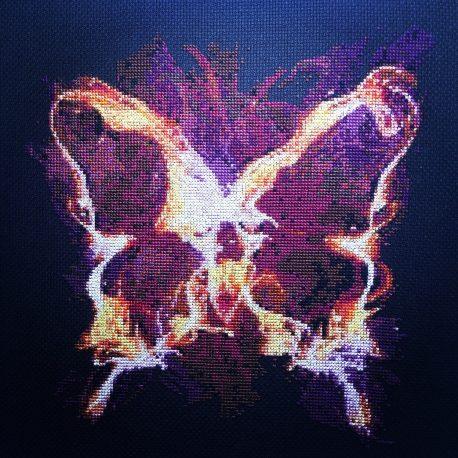 Chaos Butterfly Cross Stitch