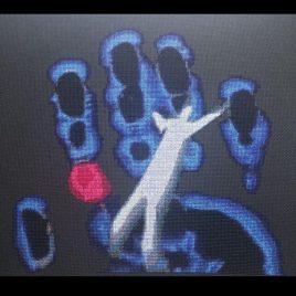X Files Hand Cross Stitch Pattern