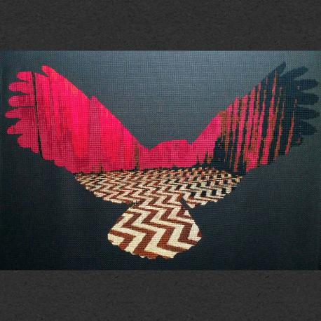 Twin Peaks Owl Cross Stitch Pattern