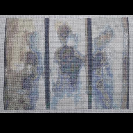 X Files Aliens Cross Stitch Pattern